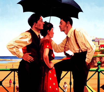 The Tourist Trap by artist Jack Vettriano