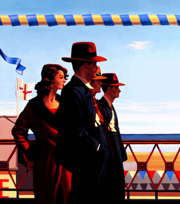 The Defenders Of Virtue by artist Jack Vettriano