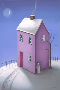 On A Magical Winters Eve by artist Paul Horton