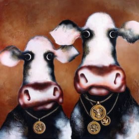 'Wayne & Bruno' by artist Caroline Shotton