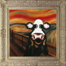 The Moo by artist Caroline Shotton