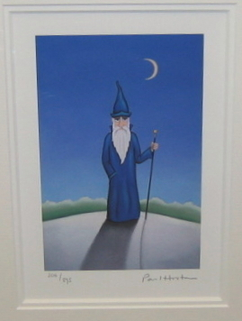 'The Wizard' by artist Paul Horton