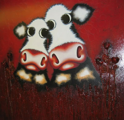 From Me To Moo by artist Caroline Shotton - My Photo