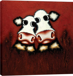 From Me To Moo by artist Caroline Shotton